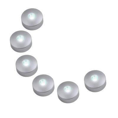 Потолочный светодиодный светильник (08933) Uniel 4500K ULM-R04-1W*6/NW светодиодный встраиваемый светильник 08786 uniel 4500k ulm r31 5w nw ip20 black chrome