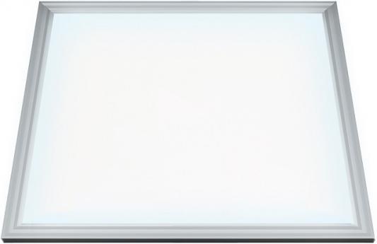 Потолочный светодиодный светильник (10886) Uniel 4000K ULP-6060-40/NW Prom-3/EMG Silver