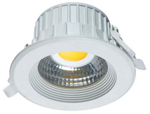 Светодиодный встраиваемый светильник (08787) Uniel 3000K ULM-R31-5W/WW IP20 Gold