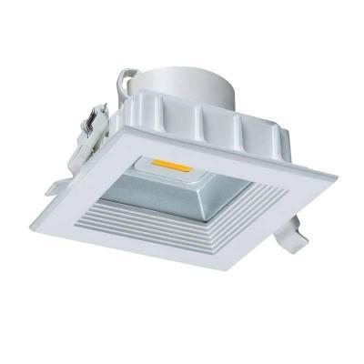 Светодиодный встраиваемый светильник (08578) Uniel 3000K ULT-D02C-10W/WW