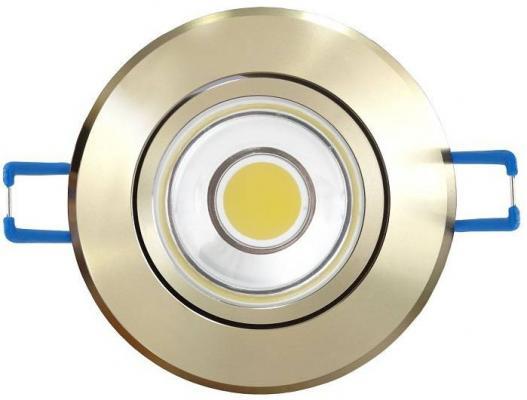 Светодиодный встраиваемый светильник (08788) Uniel 4500K ULM-R31-5W/NW IP20 Gold светодиодный встраиваемый светильник 07621 uniel 4500k ulm r31 5w nw ip20 sand silver
