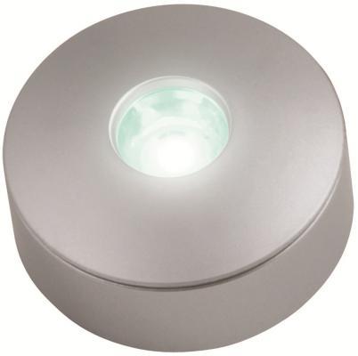 Встраиваемый светильник (08932) Uniel ULE-R04-1W/NW IP33 SILVER uniel ulo cl120 40w nw silver
