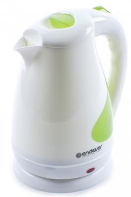 Чайник ENDEVER 342-KR 2100 Вт белый 1.7 л пластик