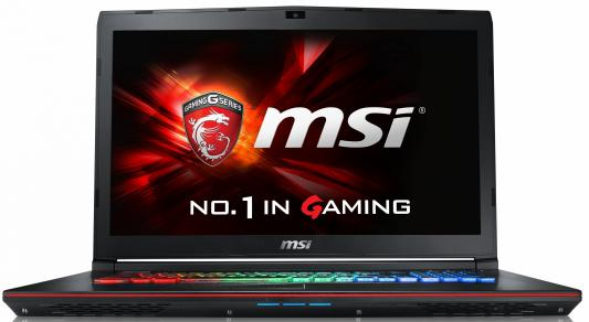 "Ноутбук MSI GE72 6QF(Apache Pro)-229RU Core i7 6700HQ/8Gb/1Tb/SSD128Gb/DVD-RW/nVidia GeForce GTX 970M 3Gb/17.3""/FHD (1920x1080)/Windows 10 64/black/WiFi/BT/Cam"
