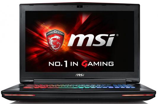 "Ноутбук MSI GT72VR 6RE(Dominator Pro)-402RU Core i7 6700HQ/16Gb/1Tb/SSD128Gb/DVD-RW/nVidia GeForce GTX 1070 8Gb/17.3""/IPS/FHD (1920x1080)/Windows 10/black/WiFi/BT/Cam"