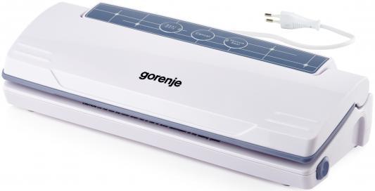 Вакуумный упаковщик Gorenje VS110W 250Вт серебристый/черный