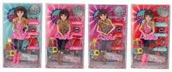 Кукла Shantou Gepai Abbie Дискотека 29 см AB003 кукла shantou gepai abbie модница 29 см ab024 в ассортименте