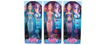 Кукла Shantou Gepai Abbie Русалка с аксес-ми, 29см, в ас-те.