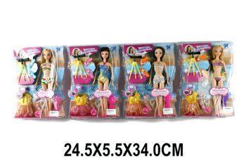 Кукла Shantou Gepai Летние каникулы в ассорт., кор.29 см
