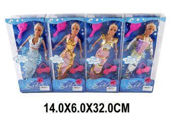 Кукла Shantou Gepai Русалка с аксесс, в ассорт., кор.29 см LS20154 shantou gepai кукла озвученная 30 см с коляской shantou gepai