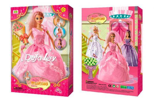Кукла DEFA LUCY Невеста 30 см 6927480614609 кукла defa lucy летние покупки 8220