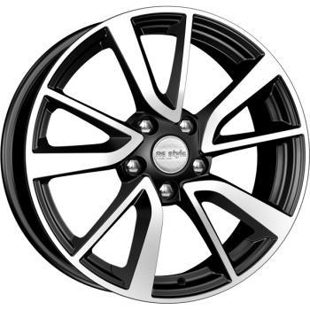 Диск K&K Audi A4 (КСr699) 7xR17 5x112 мм ET46 Алмаз черный [68035]