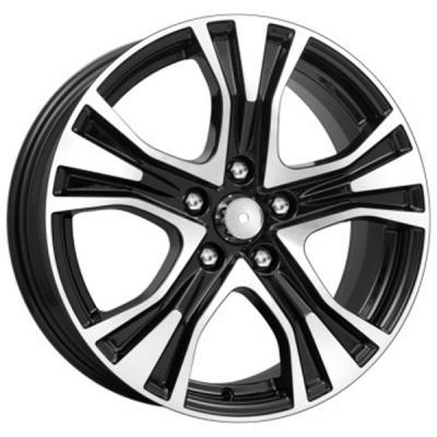 Диск K&K Toyota RAV4 (КСr673) 7xR17 5x114.3 мм ET39 Алмаз черный диск k