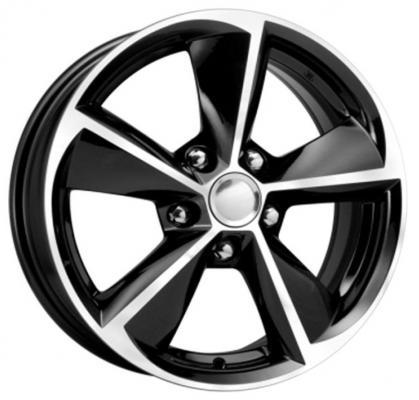 Диск K&K Toyota Corolla (КСr681) 6.5xR16 5x114.3 мм ET45 Алмаз черный 64433 штампованный диск magnetto wheels toyota corolla 6 5 r16 5x114 3 d60 1 et45 black