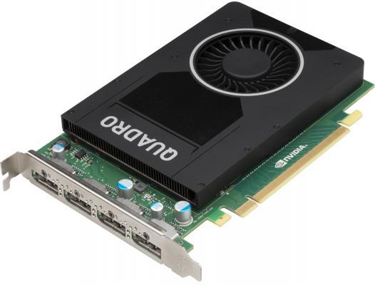 Видеокарта 4096Mb HP Quadro M2000 PCI-E DP T7T60AA
