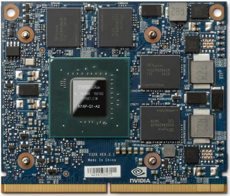Видеокарта 2048Mb HP Quadro M1000M T8W13AA