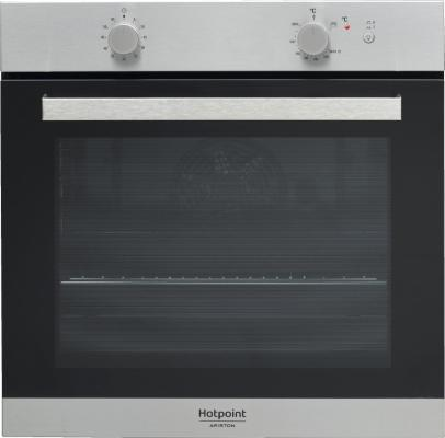 Газовый шкаф Hotpoint-Ariston GA3 124 IX HA серебристый