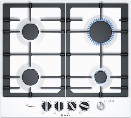 Варочная панель газовая Bosch PCP6A2M90 белый