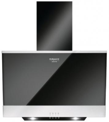 Вытяжка каминная Hotpoint-Ariston HHVP 6.6F LM K черный цена и фото