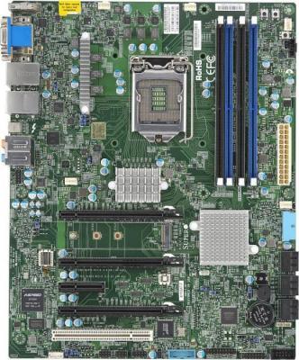Мат. плата для ПК Supermicro MBD-X11SAT-O Socket 1151 C236 4xDDR4 3xPCI-E 16x 1xPCI-E 1x 6xSATAIII ATX