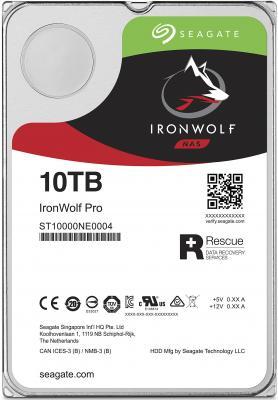 Жесткий диск 3.5 10 Tb 7200rpm 256Mb cache Seagate Ironwolf Pro SATAIII ST10000NE0004 жесткий диск 10tb seagate ironwolf pro st10000ne0004
