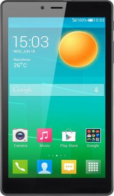 "Планшет Alcatel Pixi 4 7.0 7"" 8Gb серый Wi-Fi Bluetooth Android 8063-3CALRU1"
