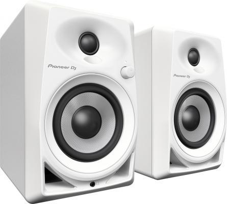 Акустическая система Pioneer DM-40-W белый акустическая система pioneer s dj50x w белый 80 вт 50 20000 гц rca mdf 220v
