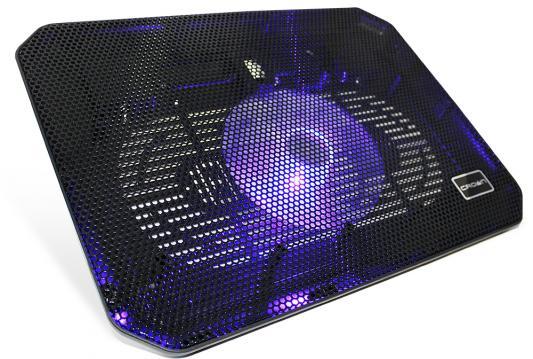 Подставка для ноутбука 17 Crown CMLC-M10 140x15mm USB черный