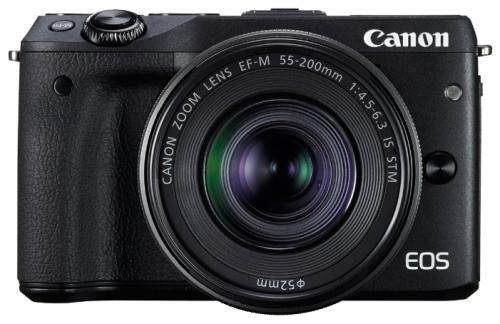 Фотоаппарат Canon EOS M3 BK M15-45 черный 9694B142 фотоаппарат canon eos m10 black
