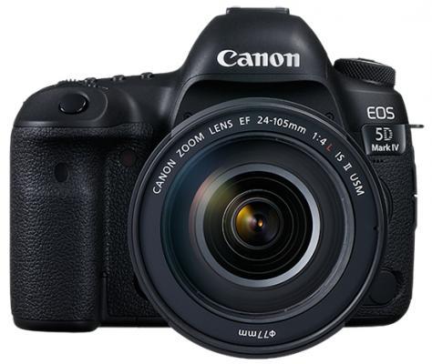 Зеркальная фотокамера Canon EOS 5D Mark IV Body черный 1483C025