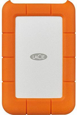Купить Внешний жесткий диск 2.5 USB-C 2Tb Lacie Rugged Mini STFR2000400 оранжевый