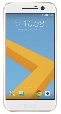 Смартфон HTC 10 EEA золотистый 5.2 32 Гб NFC LTE Wi-Fi GPS 3G мобильный телефон htc m7 4 7 4g gps wi fi 32 nfc