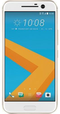 Смартфон HTC 10 Lifestyle золотистый 5.2 32 Гб NFC LTE Wi-Fi GPS 3G 99HAJN037-00 смартфон htc 10 lifestyle carbon grey