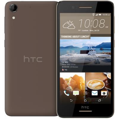 """Смартфон HTC Desire 728 коричневый 5.5"""" 16 Гб Wi-Fi GPS 3G LTE 99HAKC011-00"""