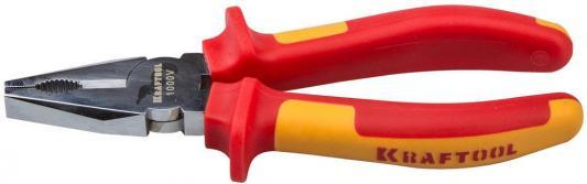 Плоскогубцы Kraftool ELECTRO-KRAFT 180мм 2202-1-18_z01 клещи kraftool electro kraft 2202 10 25 z01