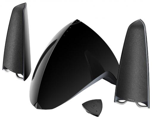 Колонки Edifier E3360BT 2x12 Вт + 40W черный колонки defender x500 26 2x12 вт черный