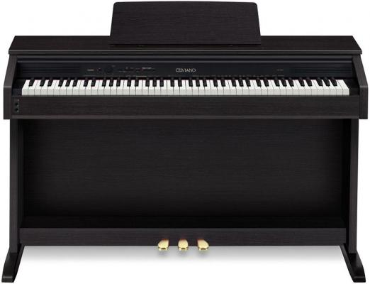 Цифровое фортепиано Casio AP-460BK 88 клавиш черный цифровое фортепиано casio celviano px 860bk 88 клавиш usb черный