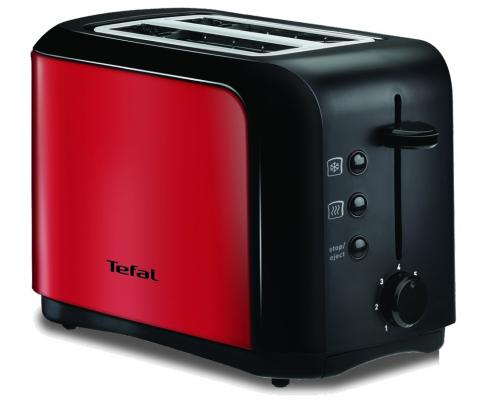 Тостер Tefal TT356E30 красный тостер tefal tt 3571 express