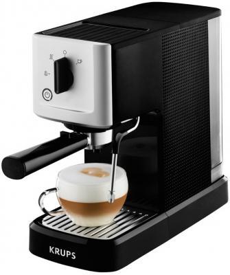 Кофемашина Krups XP344010 черно-серебристый цена