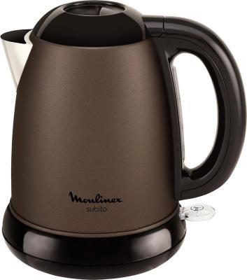 Чайник Moulinex BY540F30 2200 Вт коричневый 1.5 л металл 7211002509 чайник clatronic wks 3625 2200 вт фиолетовый 1 8 л металл