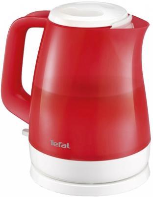 Чайник Tefal KO151530 2400 Вт красный 1.5 л пластик