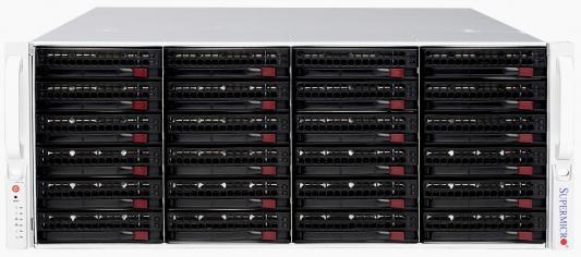 Корпус 3U Supermicro CSE-846BA-R1K28B 1280 Вт чёрный