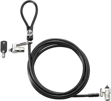 Замок HP Dual Head Keyed Cable Lock T1A64AA
