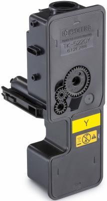 Картридж Kyocera TK-5220Y для Kyocera P5021cdn/cdw P5026cdn/cdw M5521cdn/cdw M5526cdn/cdw желтый 1200стр картридж tk 5220y