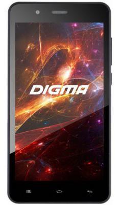 """Смартфон Digma Vox S504 3G черный 5"""" 8 Гб Wi-Fi GPS 3G"""