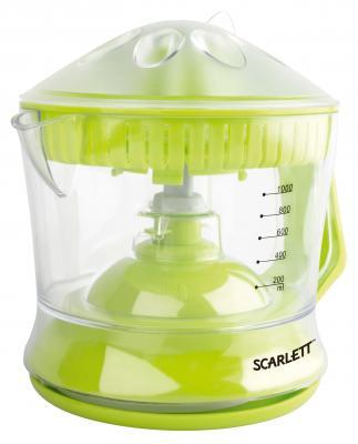 Соковыжималка Scarlett SC-JE50C04 40 Вт пластик зелёный