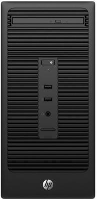 Системный блок HP 280 G2 MT i3-6100 3.7GHz 4Gb 1Tb DVD-RW Win10Pro клавиатура мышь черный W4A48ES блокада 2 dvd