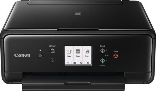 МФУ Canon Pixma TS6040 цветное A4 15/10ppm 4800x1200 Wi-Fi USB черный 1368C007