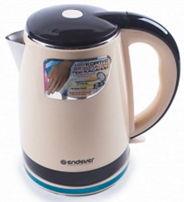 Чайник ENDEVER Skyline 240S-KR 2200 Вт бежевый коричневый 1.8 л пластик