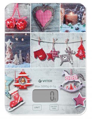 Весы кухонные Vitek VT-8019(MC) рисунок